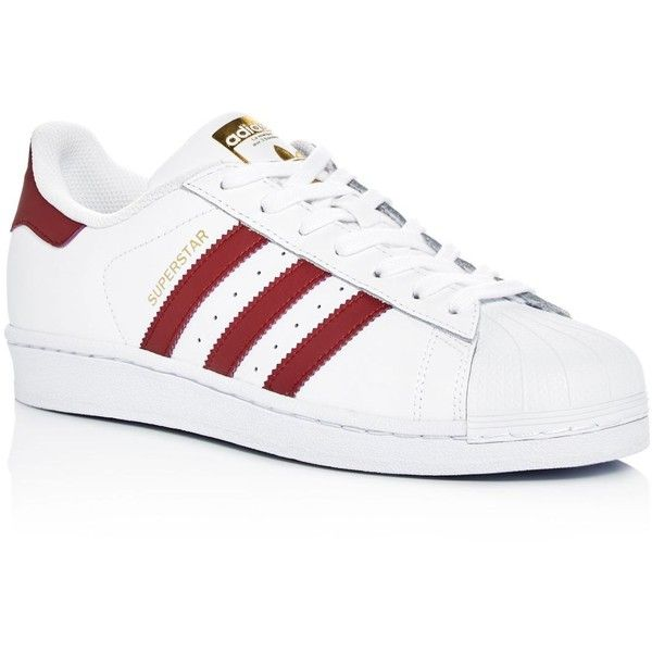 Adidas Men's Superstar Foundation Lace Up Sneakers ($80) ❤ liked on Polyvore featuring men's fashion, men's shoes, men's sneakers, mens lace up shoes, mens shoes, adidas mens sneakers, adidas mens shoes and mens sneakers