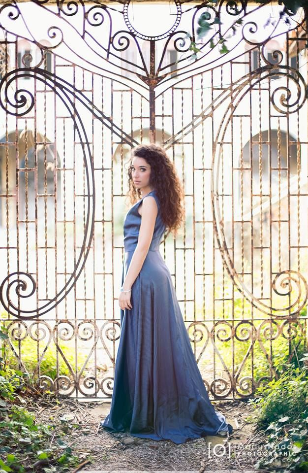 Dress Cettina Bucca  Model Valeria Tomaso  Photo Marius Nadas