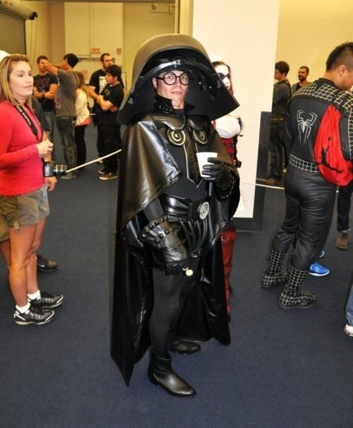 Spaceballs!!  Love Dark Helmet.   He even has a styrofoam cup of coffee!