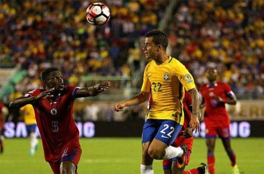 Кубок Америки: сборная Бразилии крупно переиграла команду Гаити (ВИДЕО)