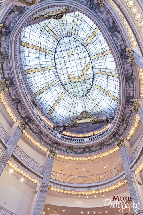 Stained Glass Ceiling Inside Neiman Marcus, San Francisco