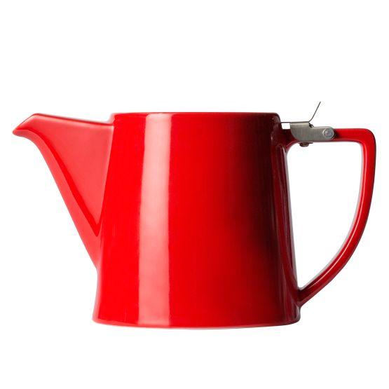 T2 Teaset Flip Top Red Teapot Medium