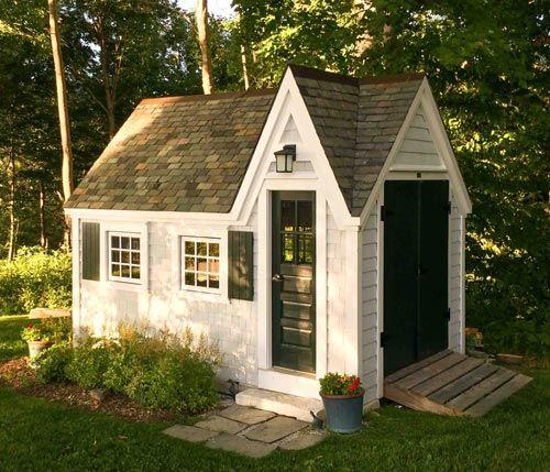8x8 Playhouse Sheds Pinterest Cottage Kits Slate