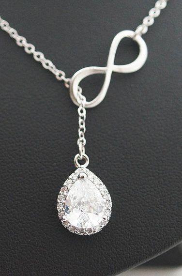 【Jewelry in My Box】Bridal Necklace Wedding Bridesmaid Necklace