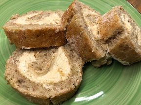 Bananrulltårta med kanel-smörkräm