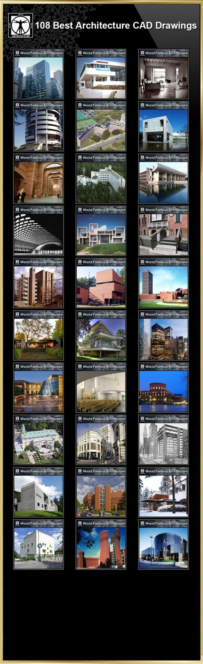 108 Best Architecture CAD DrawingsBest Collections