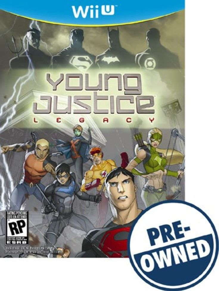Young Justice: Legacy - PRE-Owned - Nintendo Wii U