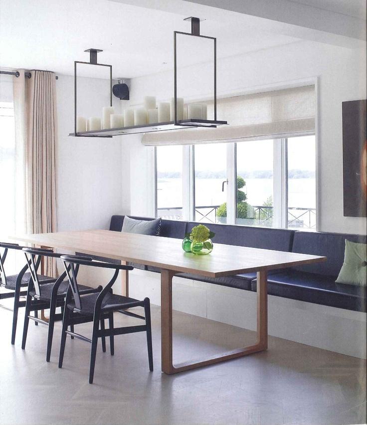 Kitchen Bench Dining Table: 37 Best Images About Muurbank/eettafelbank On Pinterest