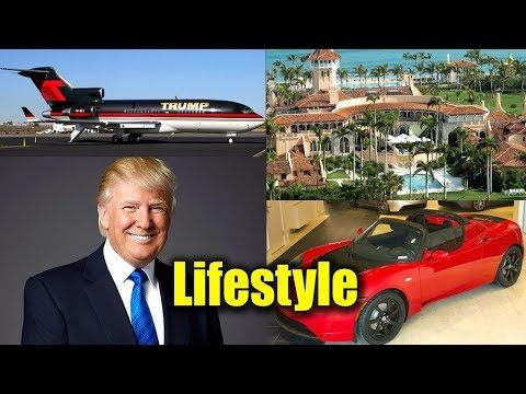 Donald Trump Lifestyle,Net worth,Private jet,Income,Age,Biography,Wife &...