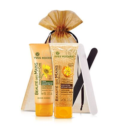The Hand Beauty Care Collection makes a great gift idea! #giftideas #yvesrocher #beauty