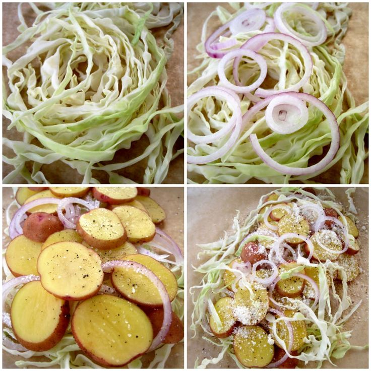 Grilled Cabbage & Potato Packets - The Sensitive Pantry - Gluten-free ...