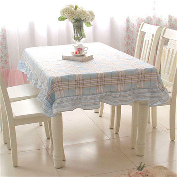 МК покрытие стола Корейский Пастырское оборками ткань обеденный стол крышка набор скатерть обеденный стол крышка стула скатерть
