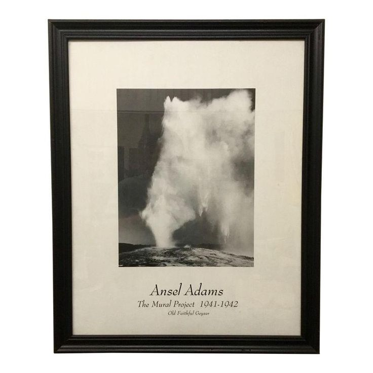 ansel adams the mural project Vintage ansel adams poster of thew mural project 1941-1942 the original photo is rendered in black, white and gray hues for dramatic effect this is a definitive.