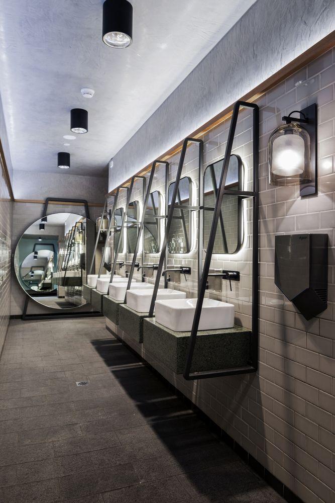 Baños Publicos Originales:BJ Restaurant Bathroom