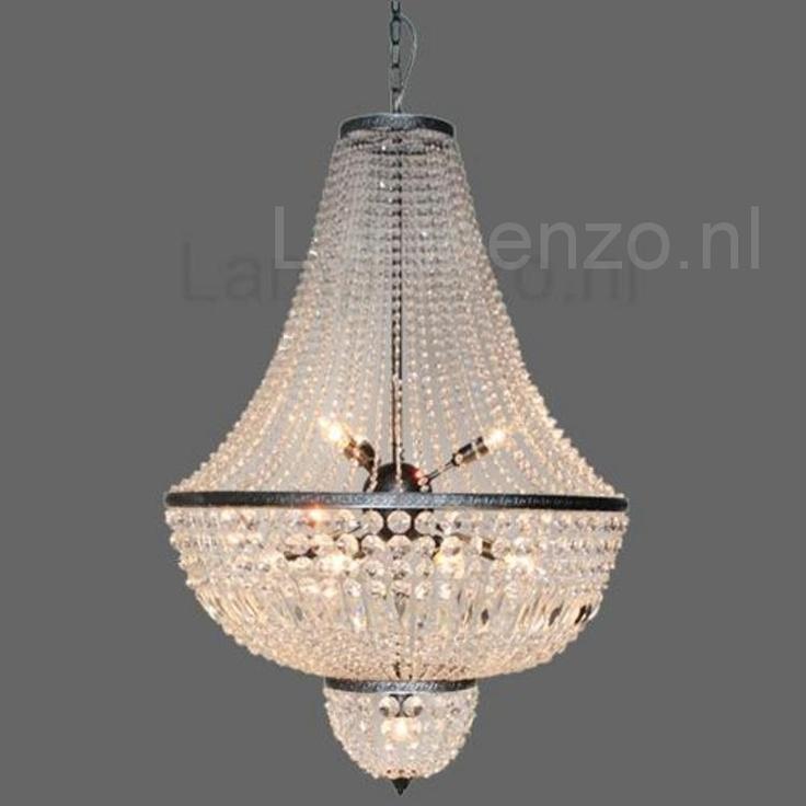 In de hal.... Azzaro Hanglamp oud zilver 12L