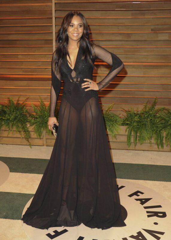 Regina Hall Attends The 2014 Vanity Fair Oscar Party