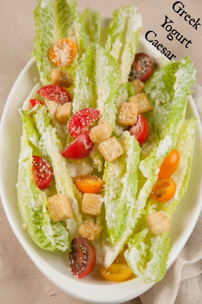 Greek Yogurt Caesar Salad