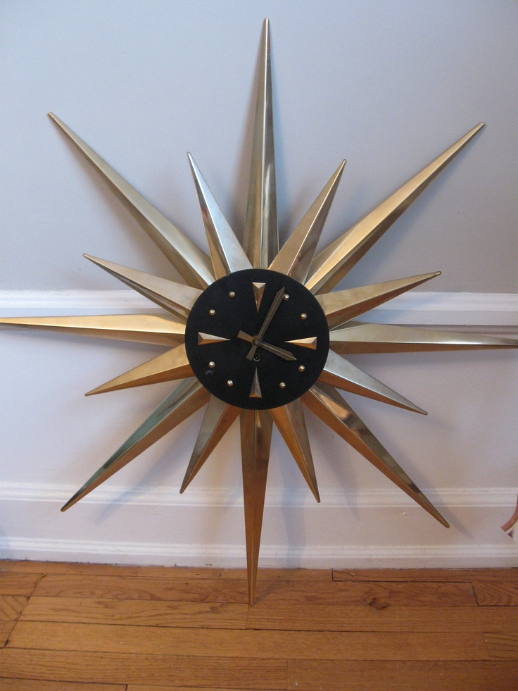 Retro Starburst Wall Decor : Best images about mid century s and starburst