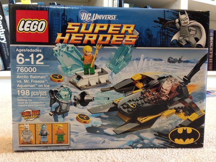 Review of Lego Arctic Batman vs Mr Freeze