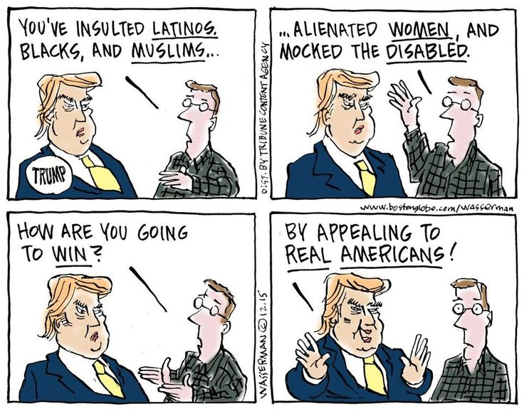 Image result for political cartoons against donald trump