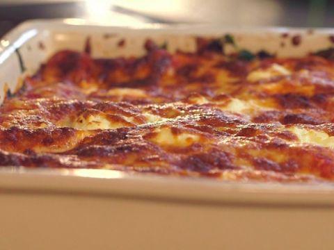 <p>  Eens iets anders dan de traditionele lasagne</p>