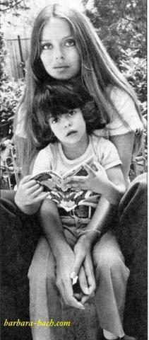 Barbara Bach (& Augusto Gregorini): Francesca McKnight Donatella Romana Gregorini di Savignano di Romagna 1971