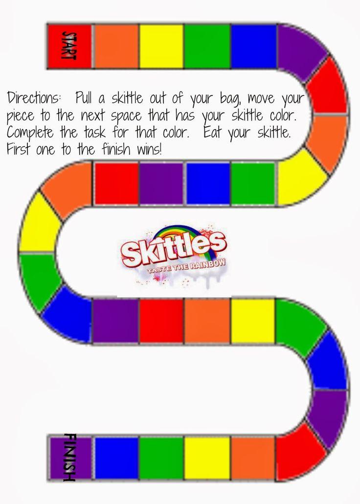Living a RAD Life: Skittles Game