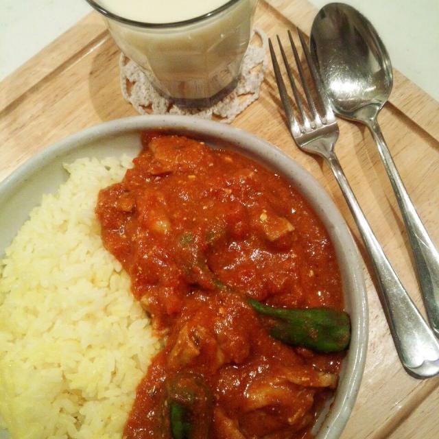 羊肉の代わりに鶏肉を使いました♬ - 28件のもぐもぐ - パキスタン料理 チキンとししとうのカラーヒー♪ by chocomacaron