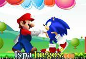 Mario And Sonic: Juego de Mario y Sonic, donde estos dos grandes personajes se unen en este juego, ayudarlos a buscar su llave y llevarlos juntos a sus casa http://www.ispajuegos.com/jugar4427-Mario-And-Sonic.html