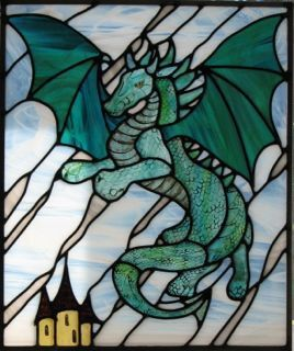Stained Glass Dragon Pattern Someday I'll be able to do stained glass again ... sigh
