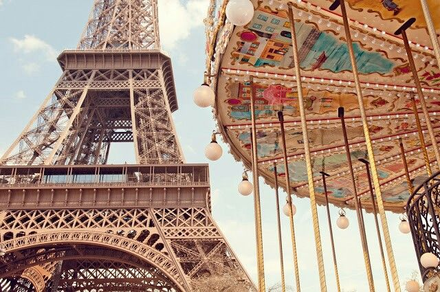 Paris baby! My version of the eifeltower and carousel!