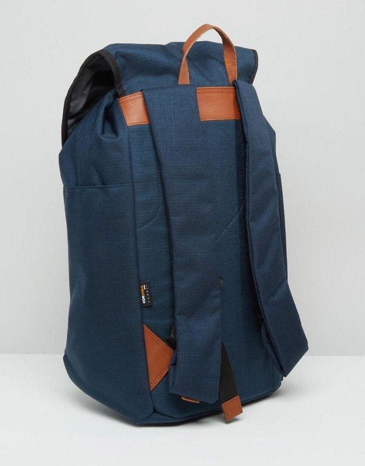 Sandqvist Hans Cordura Backpack In Blue - Blue