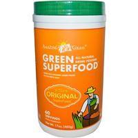 Amazing Grass, GreenSuperFood, All Natural Drink Powder, 17 oz (480 g) - $38.33