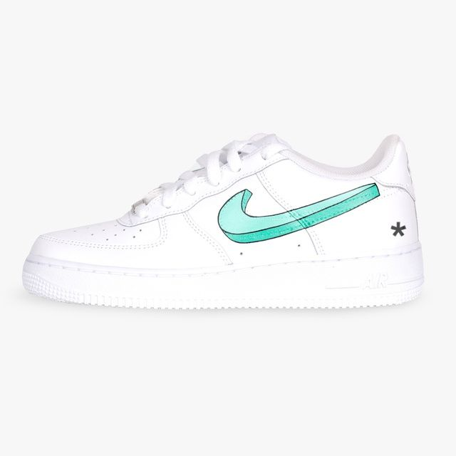 AF1 'Candy Swoosh' in 2020 | Nike shoes air force, Air force
