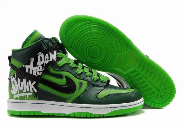 Mountain Dew Nikes