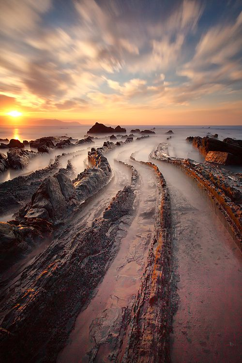 Barrika beach - Basque Country - Euskal Herria.
