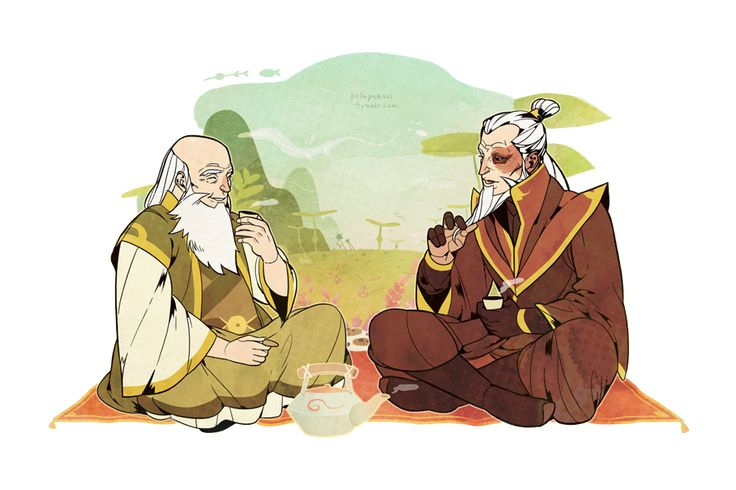 Visiting Uncle Iroh. by freestarisis.deviantart.com on @deviantART THIS NEEDS TO HAPPEN!!!!!!!!!!!!!!!