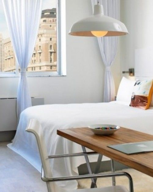 Brooklyn's NU Hotel is just 20 minutes from the city, but these airy rooms feel worlds away. #Jetsetter  http://www.jetsetter.com/hotels/new-york/brooklyn/2273/nu-hotel-brooklyn?nm=serplist=1=image