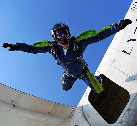 Skydiving! What could be more exhilarating than jumping out of a plane and free-falling?