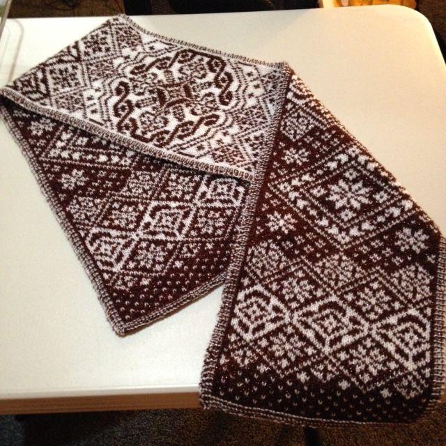 545 best Жаккардовые шарфы images on Pinterest | Knit patterns ...