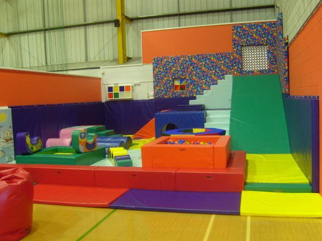 Colourful Soft Play Area