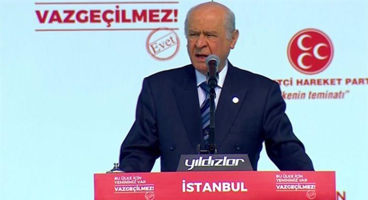 #SİYASET Bahçeli: Bre hayırsızlar, MHP milletiyle iç içe meydanlarda hala anlamıyor musun?: MHP lideri Bahçeli, partisinin İstanbul…