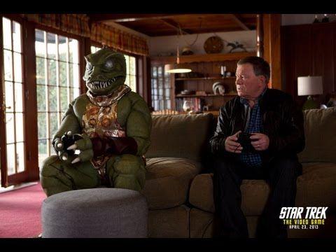 STAR TREK: THE VIDEO GAME -- Shatner vs. Gorn Trailer (Another reason to love William Shatner...and the gorn)