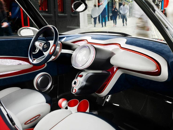 The MINI Rocketman Concept: here to meet the ever-increasing demands of modern urban living - in classic British style.