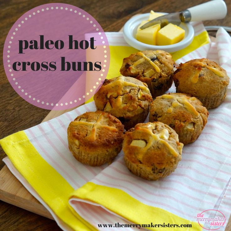 paleo hot cross buns � this recipe is like super duper delish. - almond and coconut flour