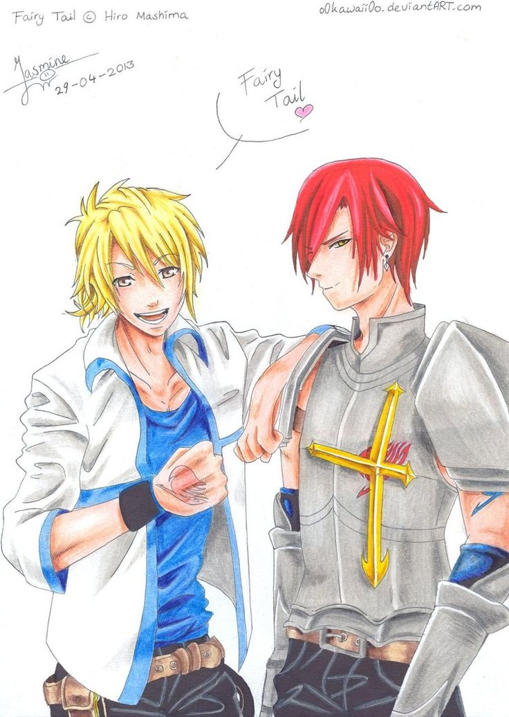 Luke Heartfilia and Azre Scarlet by ~o0Kawaii0o on deviantART