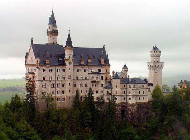 ТОП-10 замки-отели Германии
