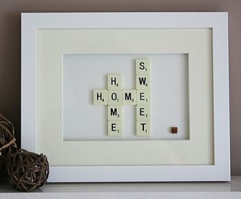 This would look great with a burlap background in a pretty picture frame!