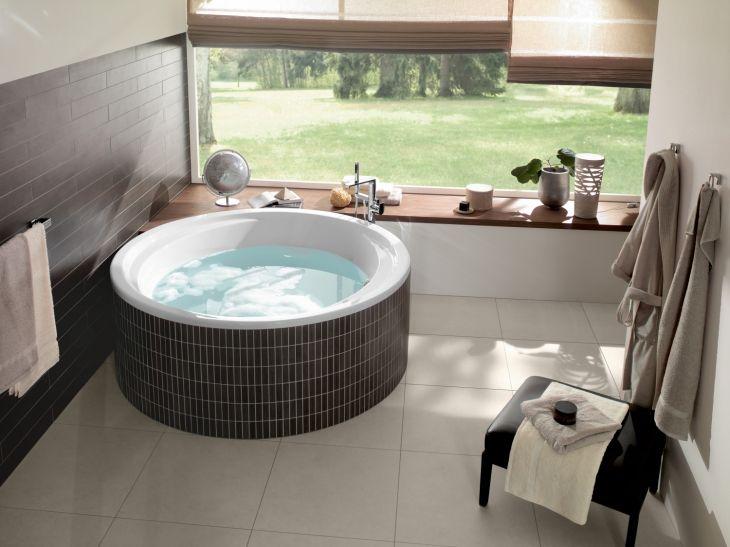 W gorącej wodzie kąpani - domowe SPA z Villeroy & Boch / łazienka, wanny