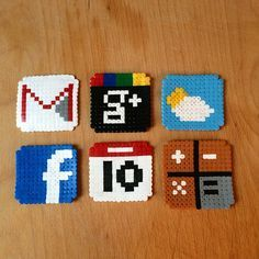 fuse bead patterns social - Google Search